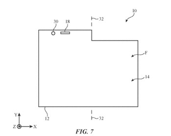 Using a taller tab on one screen could allow users of a foldable iPhone to see notifications even when the screens are closed - Apple said to working on dual-screen iPhone; patent app explains how you might view notifications