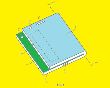 Using an off-center fold will allow notifications to be viewable even when the displays are closed - Apple said to working on dual-screen iPhone; patent app explains how you might view notifications