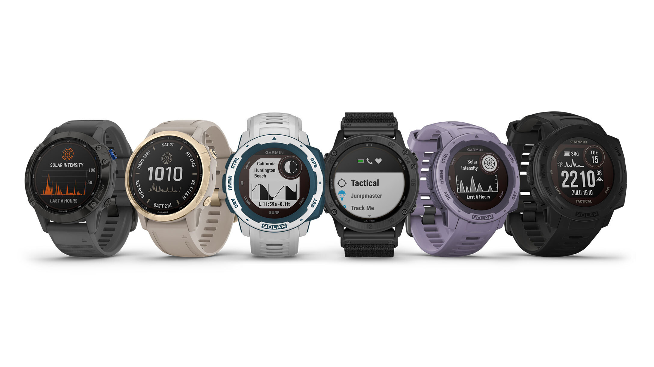 Garmin launches new, old solar-powered smartwatches