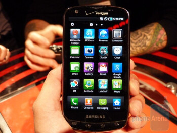 Samsung 4G LTE smartphone Hands-on