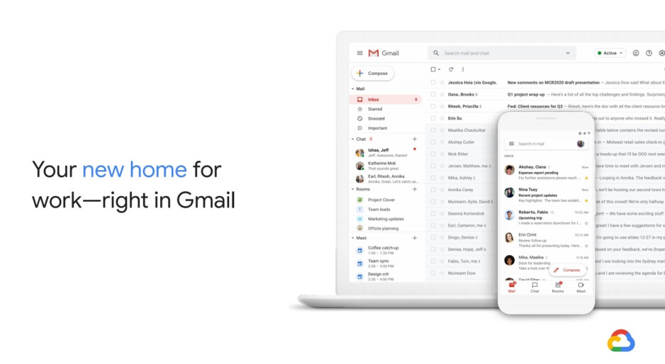 Gmail is your new home for work says Google - Gmail redesign brings changes perfect for the times