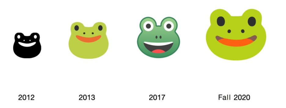 ...and the 2013 Frog - Apple previews some of the new emoji coming to iOS 14
