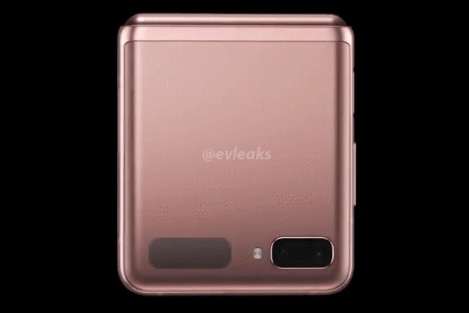 Leaked Galaxy Z Flip 5G render in Mystic Bronze - Samsung's Galaxy Z Fold 2 and Galaxy Z Flip 5G might be cheaper than you think