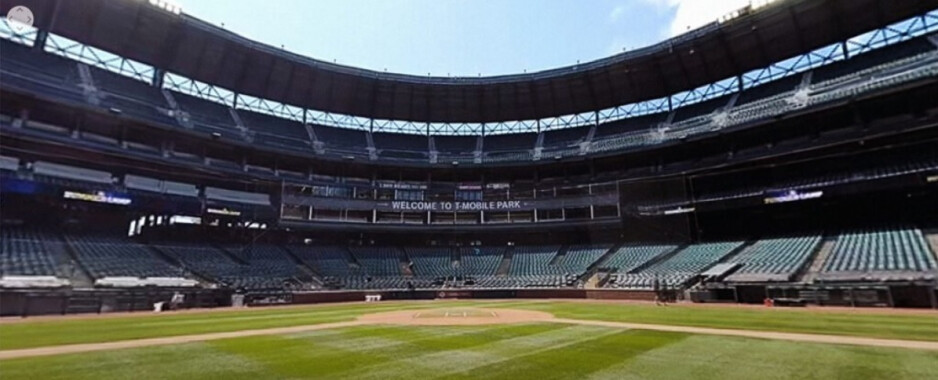 Take a virtual trip to T-Mobile Park to watch the Mariners workout - T-Mobile puts you right on the field (virtually) for MLB's Summer Camp