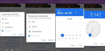 Google tests method to schedule downloads on Chrome for Android - New Chrome feature being tested for Android can save battery life and data