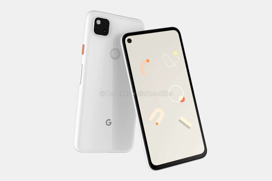 Leaked Pixel 4a renders - At least one US carrier expects Google to eventually release a Pixel 4a 5G