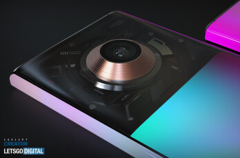 Xiaomi Mi Mix Alpha 2 concept render - This might be what the crazy Xiaomi Mi Mix Alpha 2 looks like