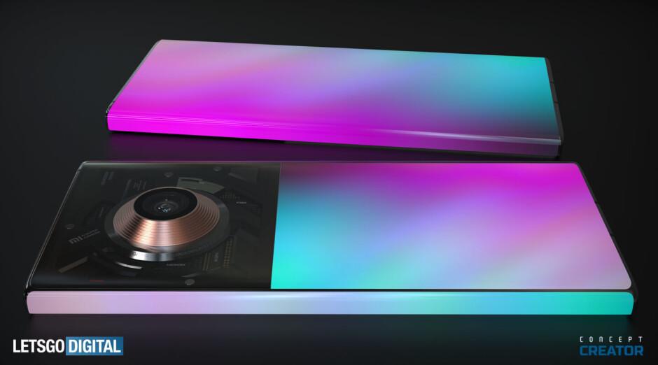 Xiaomi Mi Mix Alpha 2 concept render - This might be what the crazy Xiaomi Mi Mix Alpha 2 looks like