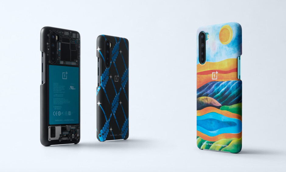 OnePlus also released some pretty cool cases for the Nord - The OnePlus Nord 5G is official: redefining midrange smartphones