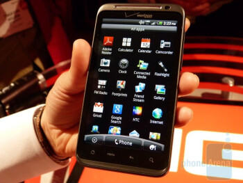 HTC ThunderBolt feels like a more polished version of the HTC EVO 4G