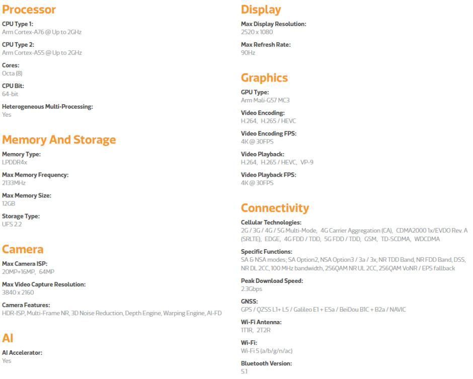 MeidaTek Dimensity 720 specs - MediaTek makes 5G more accessible with the new Dimensity 720 chipset