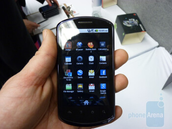 Huawei IDEOS X5 Hands-on