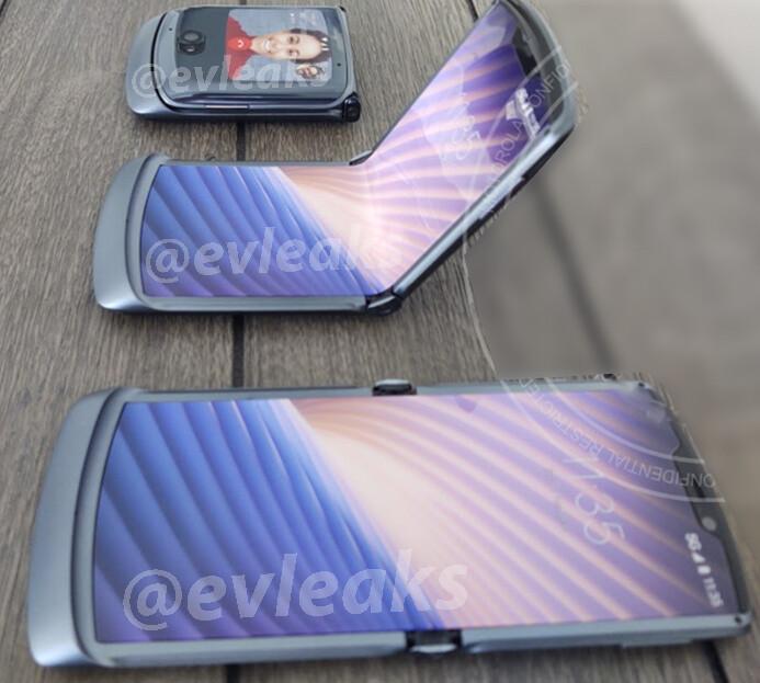 Motorola Razr 2020 first image and specs