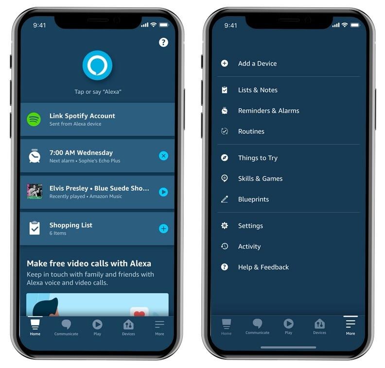 Update to Amazon Alexa app is coming to iOS, Android and FireOS - Update coming to the Amazon Alexa app on three platforms