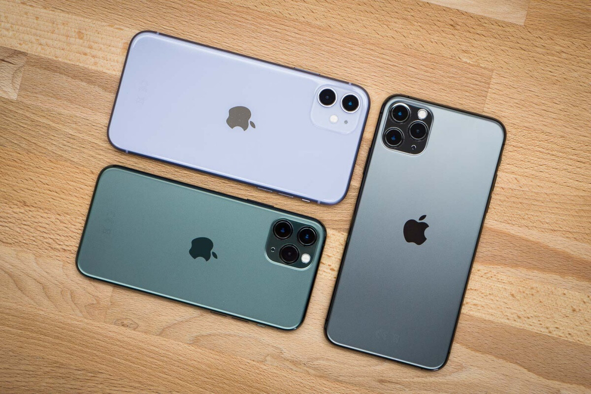 The iPhone 11 family - Apple's China hopes are looking up after a solid Q2 and the upcoming 5G iPhone 12 launch