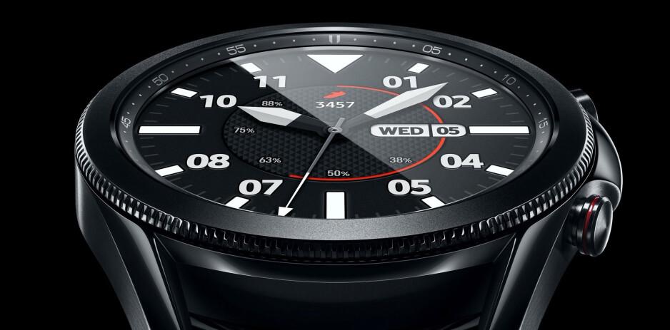 Samsung Galaxy Watch 3 45 mm - New leak gives us another look at the Samsung Galaxy Watch 3 and its specs