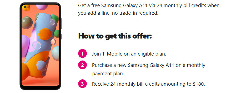 This new Samsung Galaxy phone is free if you join T-Mobile