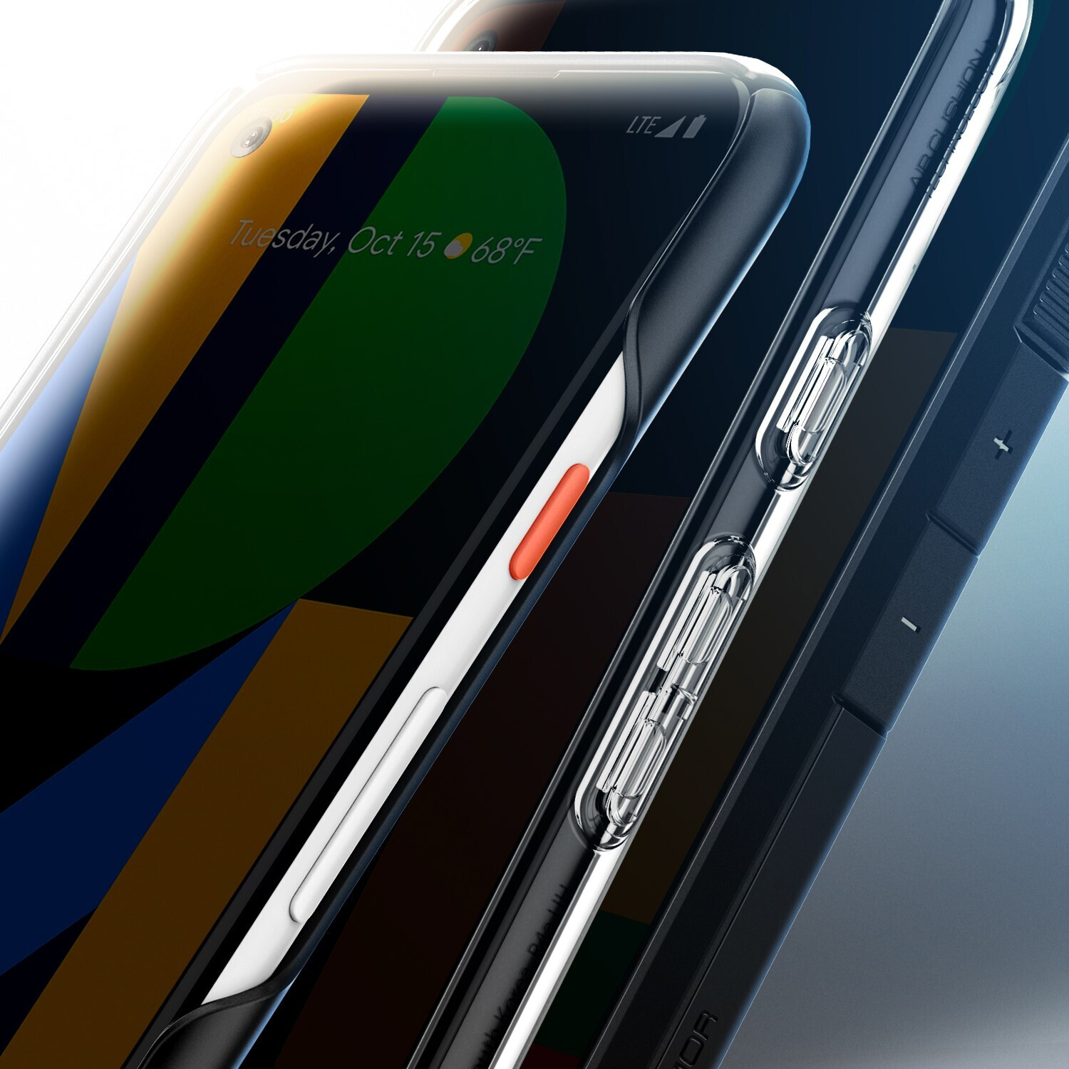 Pixel 4a image posted by Spigen - Case maker posts Pixel 4a image and... the game is on!