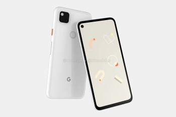 Google Pixel 4a CAD-based render - Google Pixel 4a detailed in full before launch: specs, cameras, price, availability