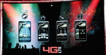Rock out with the new Rock Band game for Verizon 4G smartphones