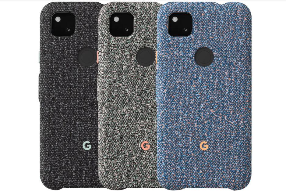 Google Pixel 4a Fabric Case colors - Best Google Pixel 4a cases