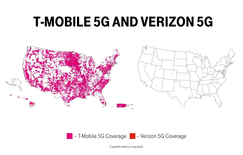 T-Mobile massively expands its already impressive 5G coverage with a new world first