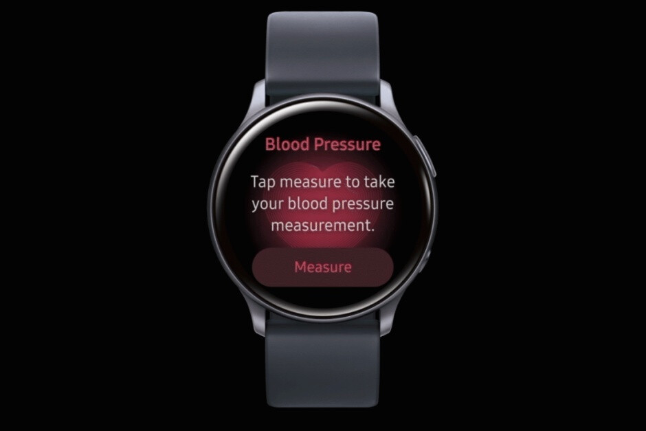 Blood pressure monitoring in action on the Galaxy Watch Active 2 - Samsung's Galaxy Watch 3 and Watch Active 2 are FDA-cleared for impending US ECG activation