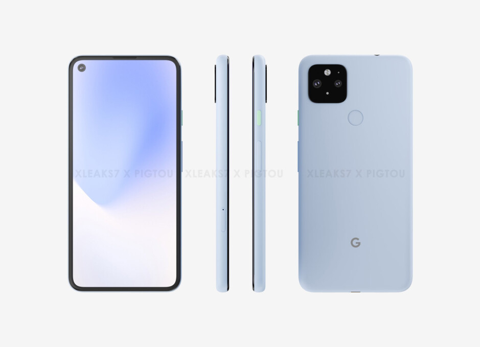 Google Pixel 4a (5G) CAD-based render - Here's when the Google Pixel 5 & Pixel 4a (5G) could be announced