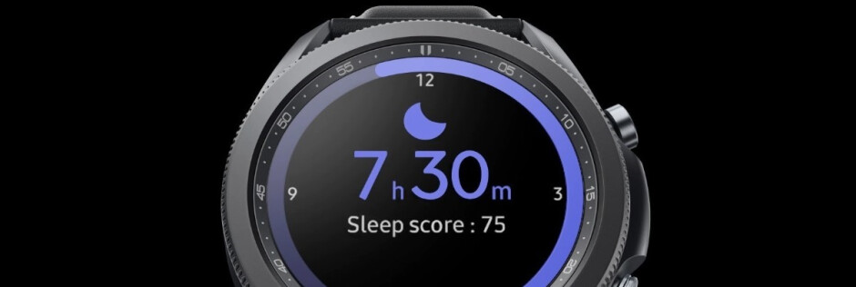 Sleep score on the Galaxy Watch 3 - Samsung Galaxy Watch 3 vs Galaxy Watch Active 2 vs Apple Watch Series 5: design, specs and features comparison