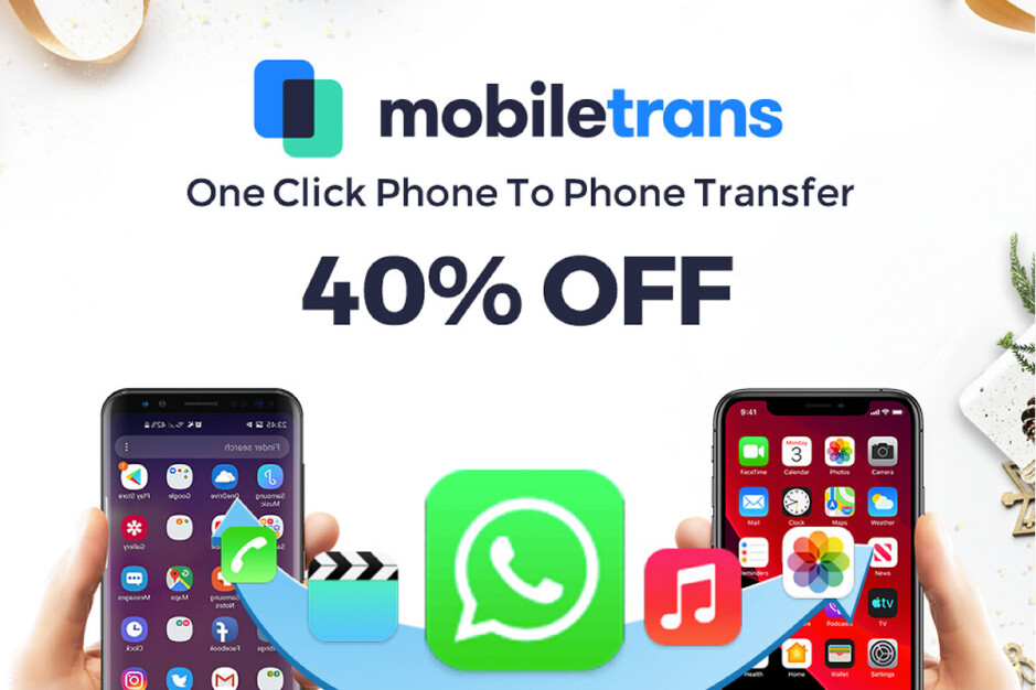 MobileTrans can help you easily transfer WhatsApp from iPhone to Android and much more