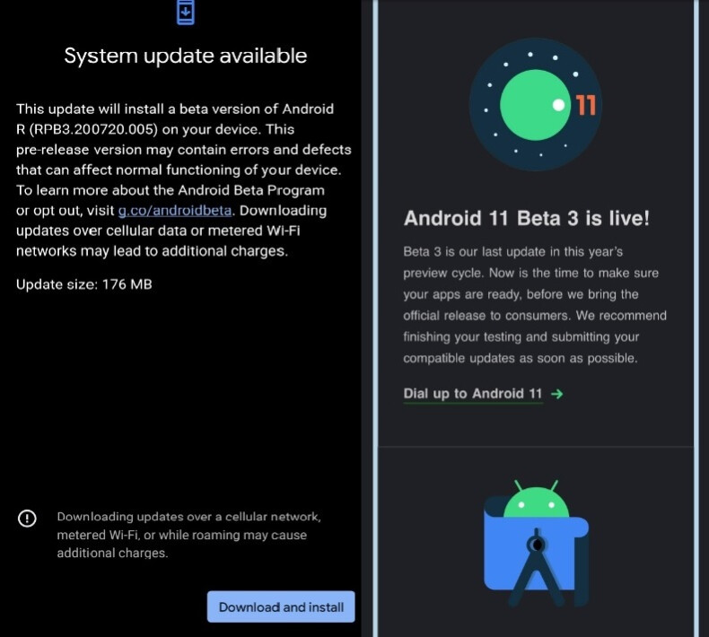 The final version of the Android 11 public beta updates has dropped - Google delivers the final public beta version of Android 11