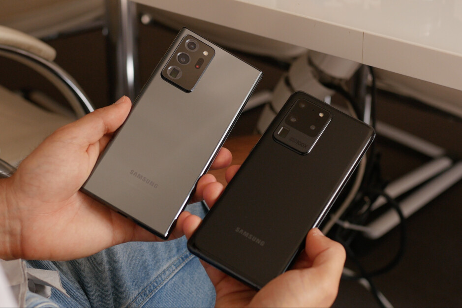 Note 20 Ultra vs S20 Ultra: what are the differences?