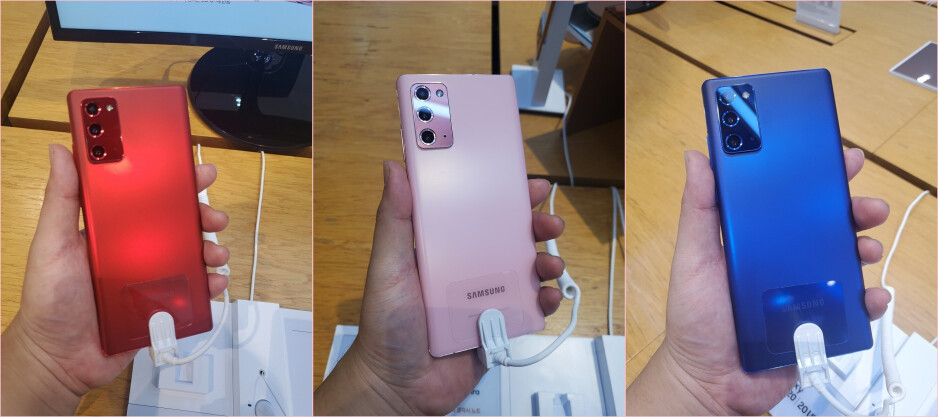 Which Galaxy Note 20 color should you get?