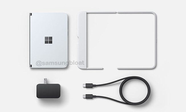 Latest Surface Duo leak reveals price, shows off design & accessories