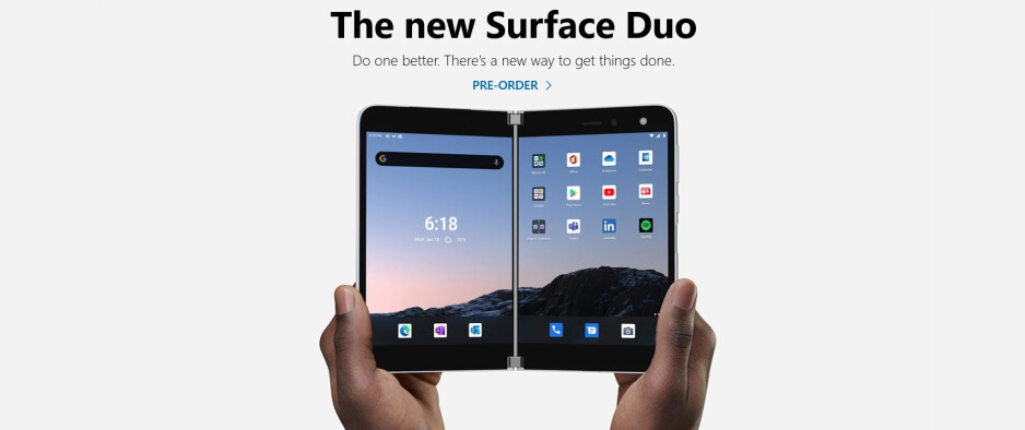 You can now pre-order the dual-screen Surface Duo - Pre-order the dual-screened Surface Duo right now; here's how