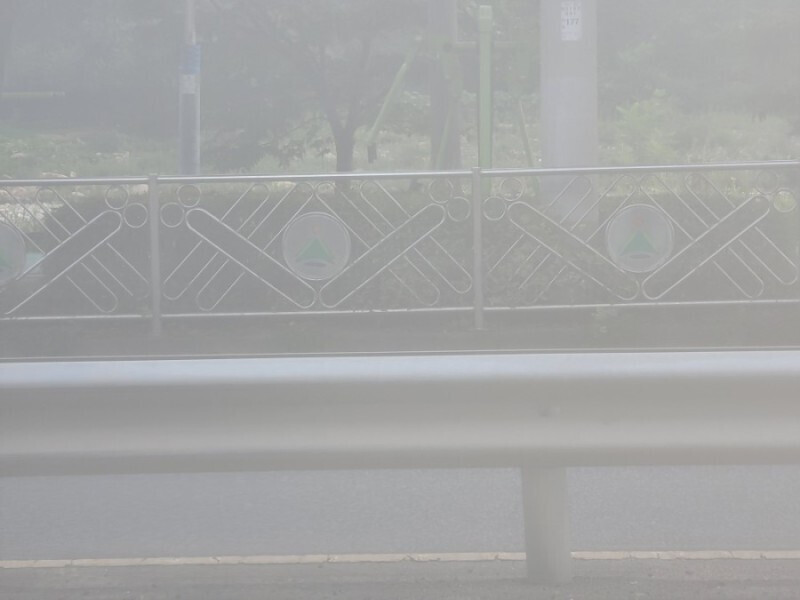 A photo taken by the foggy lenses - Samsung allegedly says fog inside the Galaxy Note 20's camera is normal