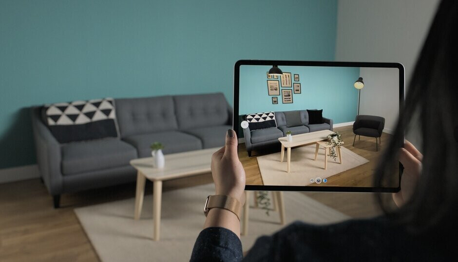 Samsung is concerned that its indirect ToF system isn't as good as Apple's LiDAR seen here driving an AR app for the iPad Pro - Samsung reportedly drops feature from 5G Galaxy S21 (S30) because it can't top Apple's version