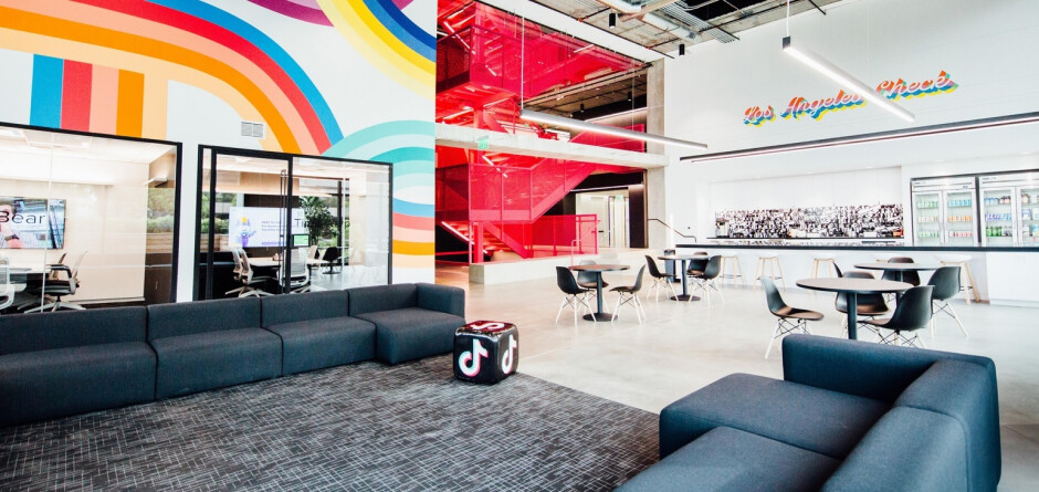 Photo shows the Los Angeles headquarters of TikTok parent ByteDance - U.S. gives ByteDance 90 days to sell its TikTok related assets in the states