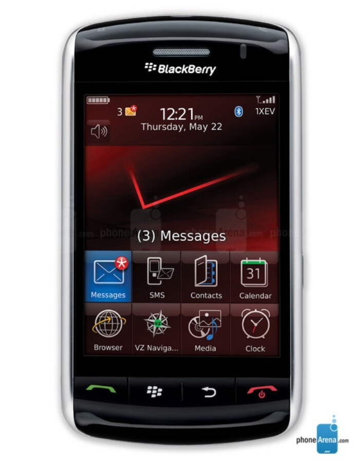 The first touchscreen BlackBerry, the Storm 9530 - If BlackBerry looks at its past, it can succeed with its 5G phone