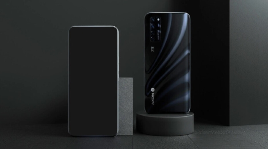 ZTE releases a render of its Axon 20 5G with an in-display selfie camera - Take a look at a render and a new teaser for the ZTE Axon 20 5G which features an in-display camera