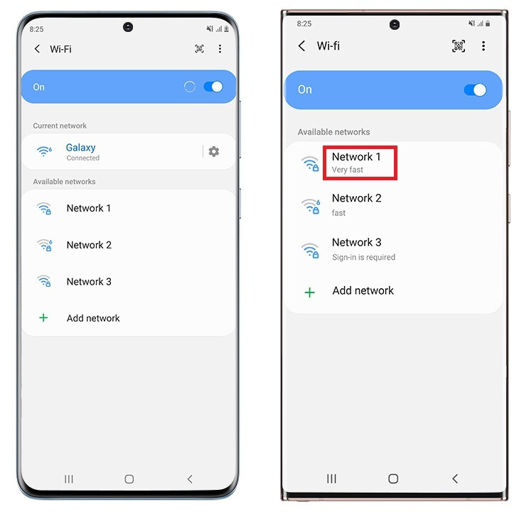 Select the fastest, most stable Wi-Fi signal available for your phone - Samsung introduces hidden features for Galaxy Note 20 Ultra 5G
