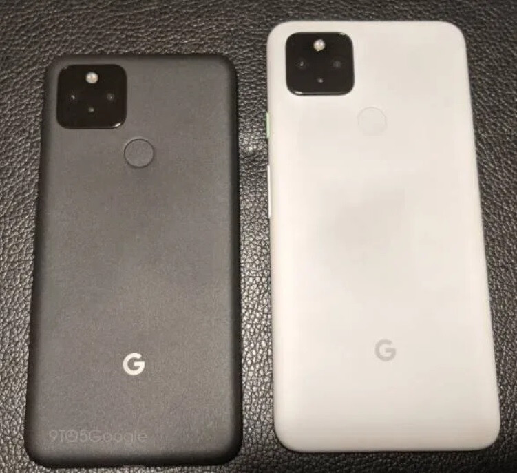 Pixel 5 at left, Pixel 4a 5G on the right - Latest leaked images, rumored specs for Google Pixel 5, Pixel 4a 5G