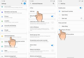 Các bước từ 2 đến 4 khi chúng sẽ xuất hiện trên Galaxy Note 20 của bạn - Cách tắt và khởi động lại Galaxy Note 20 và Note 20 Ultra
