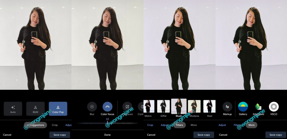 Wong discovers that Google is testing a new UI for the editing functions on the Google Photos  app - Google testing new UI for its Photos editing features
