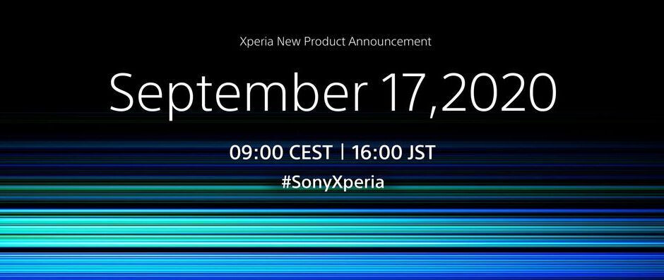 Sony's next 5G Xperia flagship gets an official announcement date