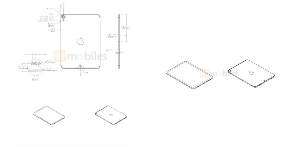 Apple iPad 2020 with USB-C and Face ID - After the iPad Air 4, an alleged iPad 2020 leaks out with a Pro design and a key specs difference