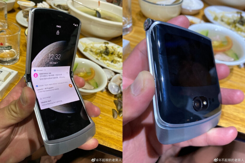 Previously leaked hands-on images of the purported Motorola Razr 5G - New Motorola Razr 5G leak leaves almost no question unanswered