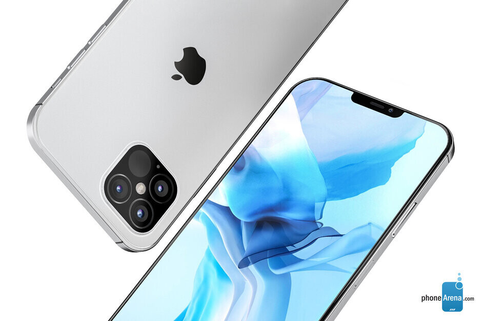 Render of 2020 5G Apple iPhone 12 Pro model - Apple sees no drop off in 5G iPhone demand because of the pandemic