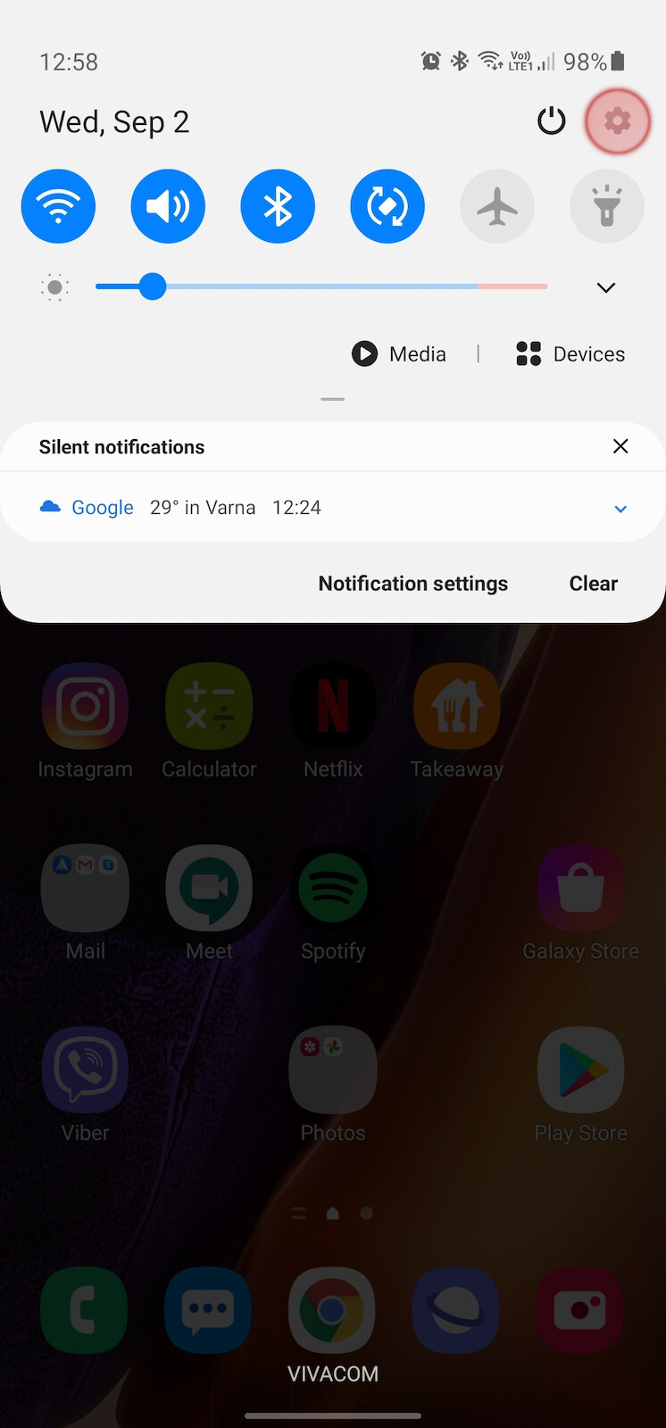 How to enable small screen one-hand mode on Galaxy Note 20 and Note 20 Ultra