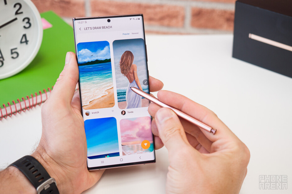 Samsung Galaxy Note 20: how to S Pen — new and old features